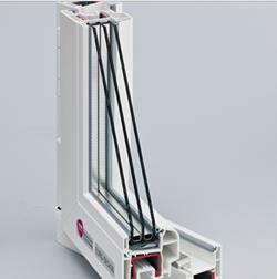 Трехкамерная система REHAU EURO-Design