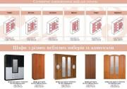 схеми шкафов спален